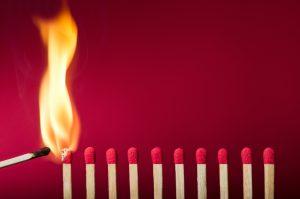 Führung, die das Feuer weckt